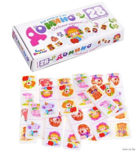 """Домино """"Любимые игрушки"""" (арт. 01803) — фото, картинка"""