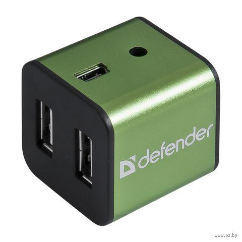 USB-хаб Defender Quadro Iron — фото, картинка