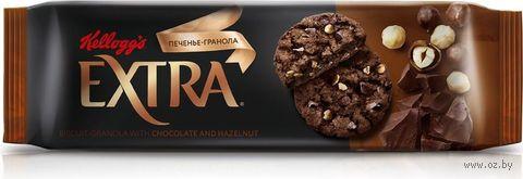"Печенье ""Extra. С шоколадом и фундуком"" (150 г) — фото, картинка"