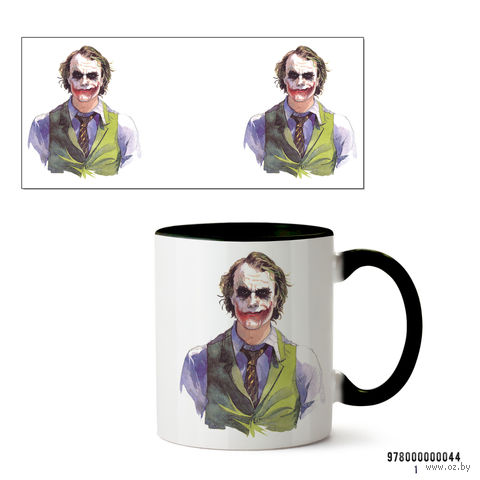 "Кружка ""Джокер"" (арт. 044, черная)"