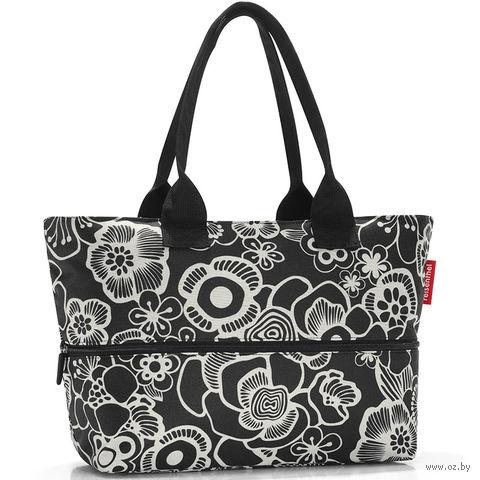 """Сумка """"Shopper E1"""" (fleur black)"""