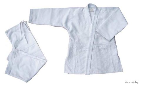 Кимоно для дзюдо AX7 (р.40-42/145; белое) — фото, картинка