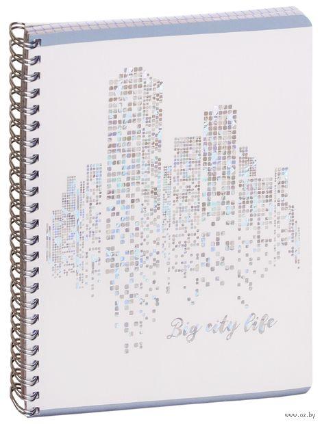 """Тетрадь полуобщая в клетку """"Big City Life"""" (48 листов) — фото, картинка"""