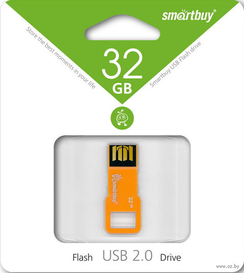 USB Flash Drive 32Gb Smartbuy BIZ (Orange)