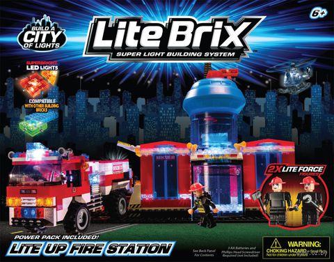 """Конструктор """"Пожарная станция"""" (со световыми эффектами) — фото, картинка"""