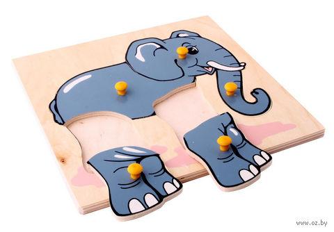 "Рамка-вкладыш ""Слон"""