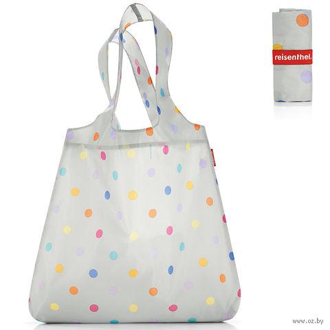 "Сумка складная ""Mini maxi shopper"" (dots white)"
