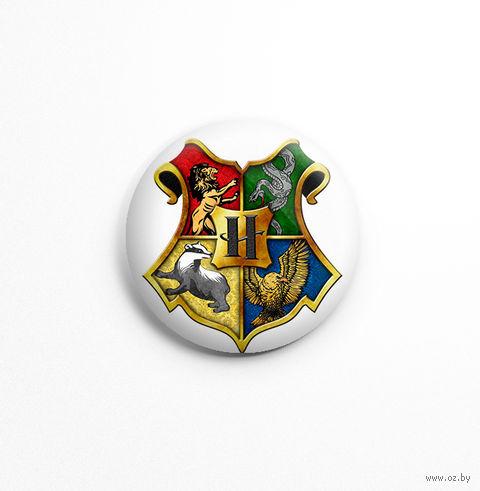 """Значок """"Гарри Поттер. Хогвартс"""" (арт. 724) — фото, картинка"""