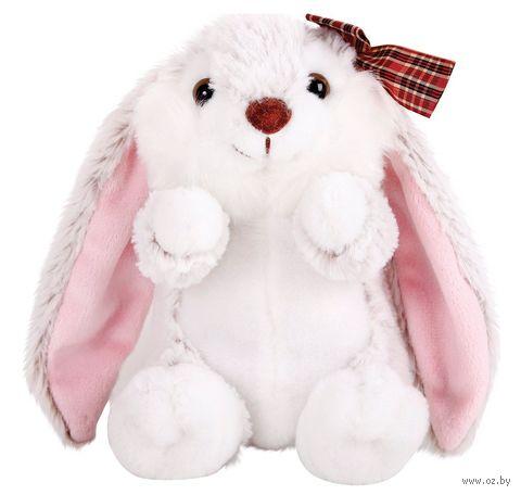 """Мягкая игрушка """"Крольчиха с бантиком"""" (19 см) — фото, картинка"""