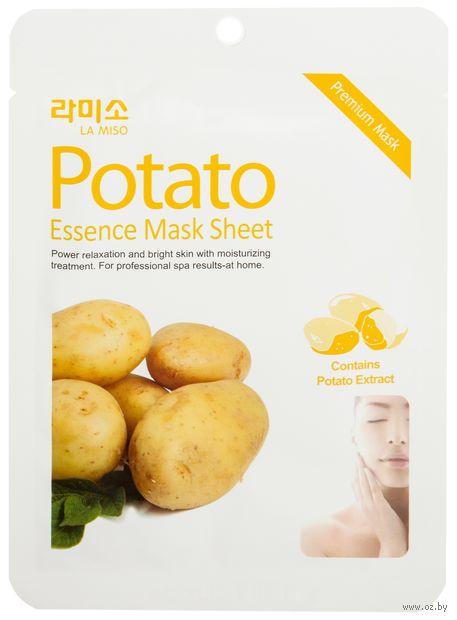 """Маска для лица """"С экстрактом Картофеля"""" (21 г) — фото, картинка"""