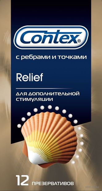 """Презервативы """"Contex. Relief"""" (12 шт.) — фото, картинка"""