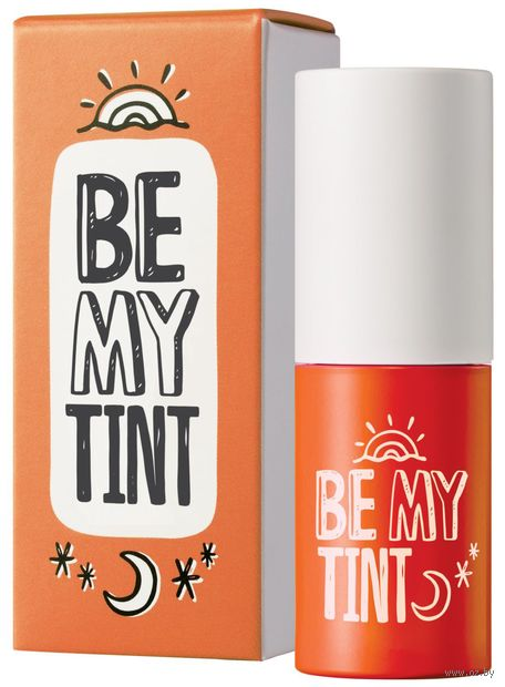 "Тинт для губ ""Be My Tint"" тон: 04, juicy orange — фото, картинка"