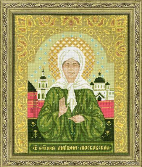"""Вышивка крестом """"Святая блаженная Матрона Московская"""" (арт. 1385)"""