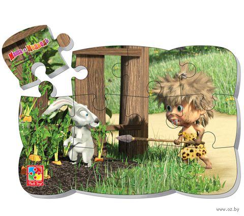 """Пазл магнитный """"Маша и Медведь"""" (12 элементов; арт. VT3205-50) — фото, картинка"""