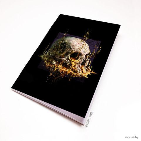 """Блокнот """"Череп"""" (А5; арт. 931) — фото, картинка"""