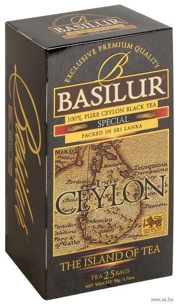 """Чай черный """"Basilur. Special"""" (25 пакетиков) — фото, картинка"""