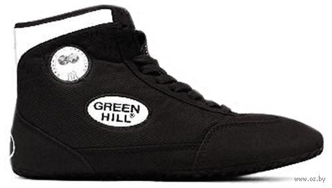 Обувь для борьбы GWB-3052/GWB-3055 (р. 38; чёрно-белая) — фото, картинка