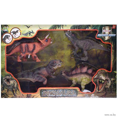 """Набор фигурок """"Динозавры"""" (4 шт.; арт. DV-T-967) — фото, картинка"""