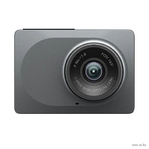 Видеорегистратор YI Smart Dash Camera (серый) — фото, картинка