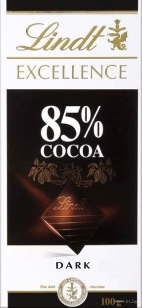 "Шоколад горький ""Excellence"" (100 г) — фото, картинка"