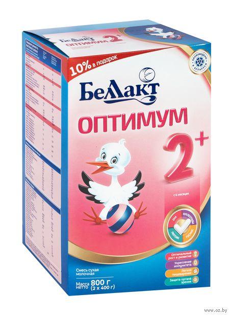 """Смесь сухая молочная """"Беллакт. Оптимум 2+"""" (800 г) — фото, картинка"""