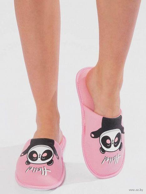 "Тапочки женские ""18W039"" (розовый) — фото, картинка"