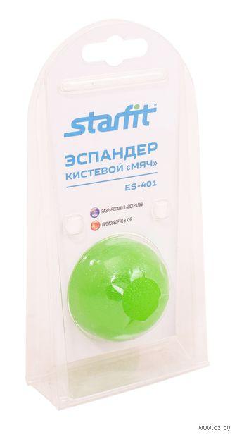 """Эспандер кистевой ES-401 """"Мяч"""" (зелёный) — фото, картинка"""