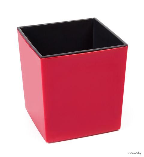 """Кашпо """"Juka"""" (25х25х25 см; красное) — фото, картинка"""