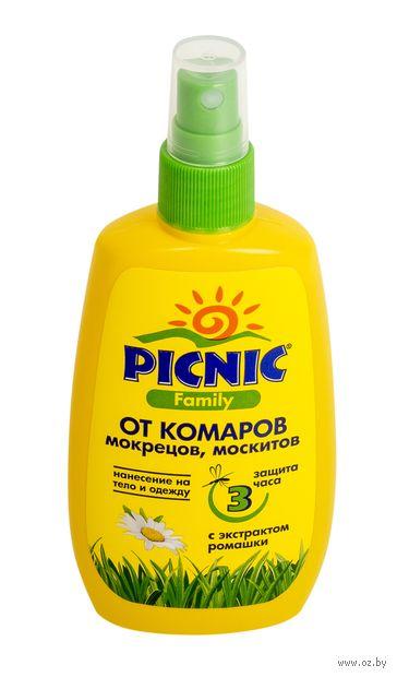 """Cпрей от комаров """"Picnic Family"""" (120 мл) — фото, картинка"""