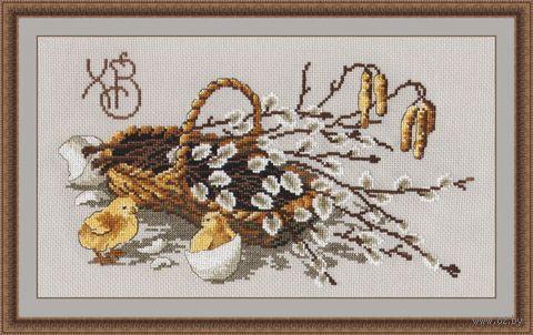 """Вышивка крестом """"Вербное Воскресенье"""" (300х170 мм) — фото, картинка"""