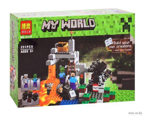 """Конструктор """"Minecraft. Пещера"""" (251 деталь) — фото, картинка"""