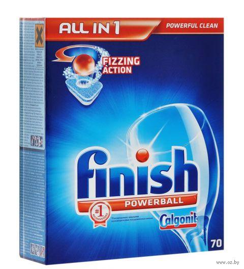 "Таблетки для посудомоечных машин Finish ""All In 1"" (70 шт)"