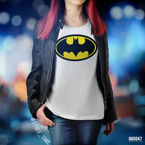 """Футболка женская """"Бэтмен"""" XS (047)"""