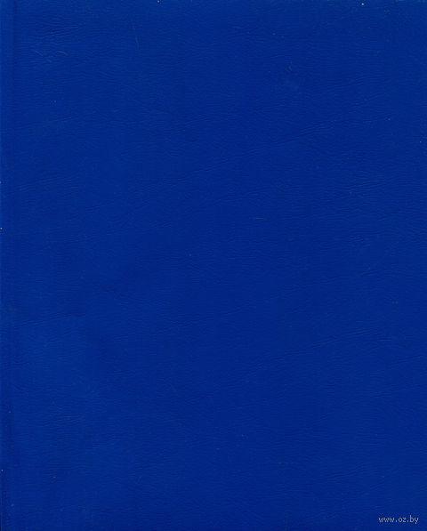 Тетрадь  в клетку 96 листов (синяя)