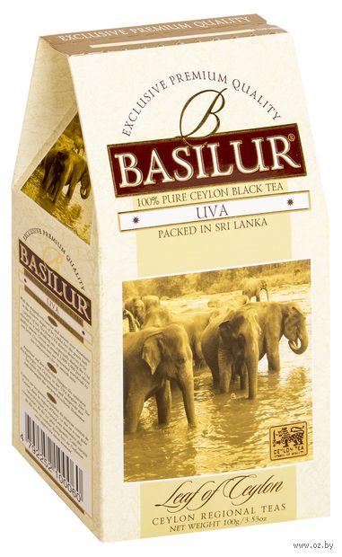 """Чай черный листовой """"Basilur. Uva"""" (100 г) — фото, картинка"""