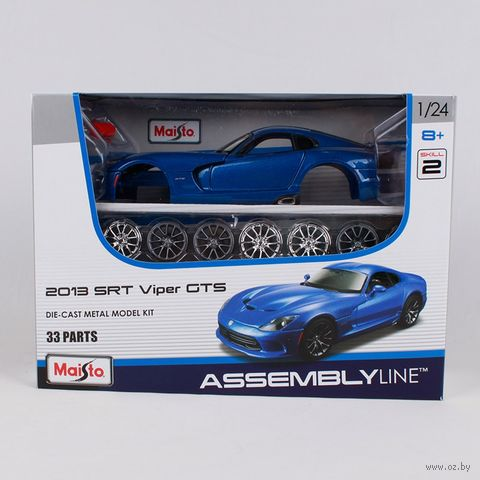 "Модель машины ""Dodge Viper GTS"" (масштаб: 1/24) — фото, картинка"