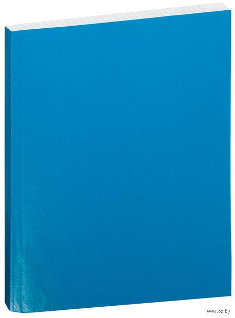 Тетрадь  в клетку 96 листов (голубая)