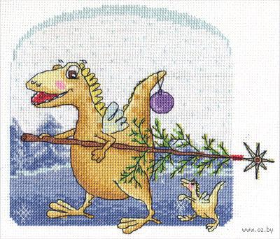 """Вышивка крестом """"Новый год Дракона"""""""