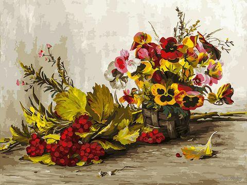 "Картина по номерам ""Осень"" (300х400 мм) — фото, картинка"