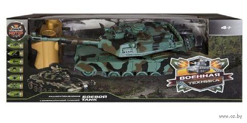 """Танк """"Abrams M1A2"""" (со световыми и звуковыми эффектами; арт. 87556) — фото, картинка"""