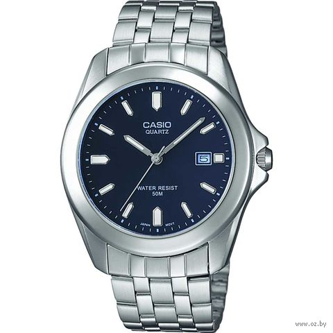 Часы наручные (голубые; арт. MTP-1222A-2AVEF) — фото, картинка