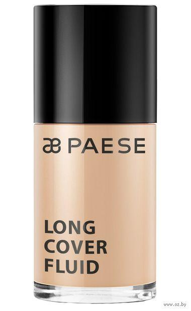 """Тональный крем для лица """"Long cover"""" SPF 6 тон: 1,5, бежевый — фото, картинка"""