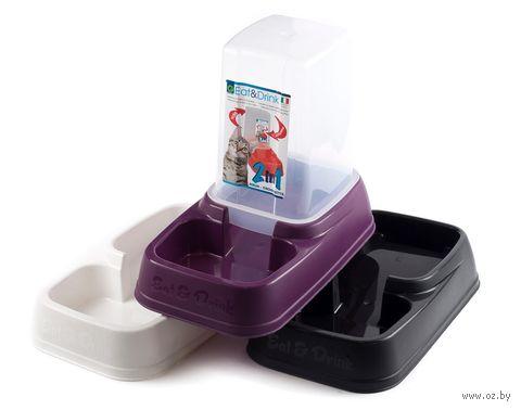Миска для животных пластмассовая (33х19,5х27 см)