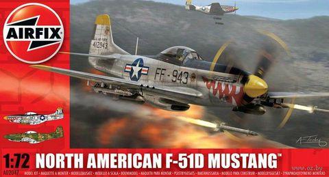 "Истребитель ""North American F-51D Mustang"" (масштаб: 1/72) — фото, картинка"