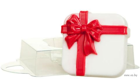 """Форма для изготовления мыла """"Коробка с подарками"""""""