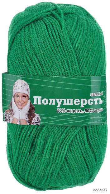 """Пряжа """"Астра. MIX Wool"""" (зеленая; 100 г; 250 м) — фото, картинка"""