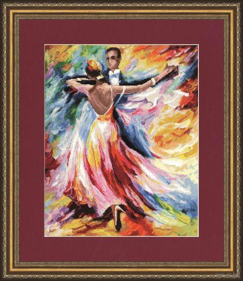 """Вышивка крестом """"Танец любви"""" (386х309 мм) — фото, картинка"""