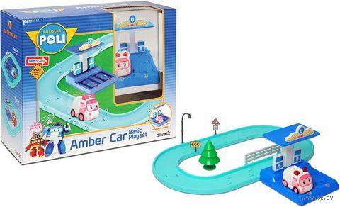 """Игровой набор """"Маленький трек с машинкой Эмбер"""""""