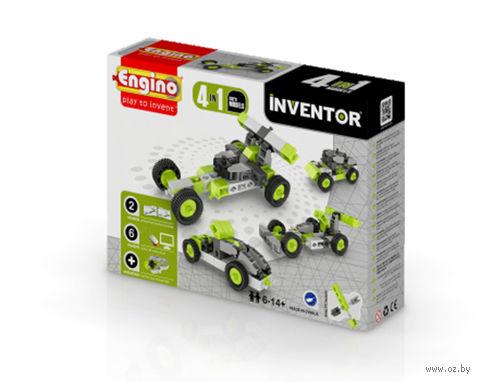 """Конструктор """"Inventor. Автомобиль"""" (50 деталей)"""