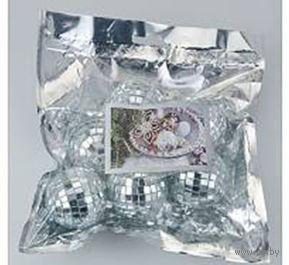 Набор шаров зеркальных декоративных (6 шт; 5 см)